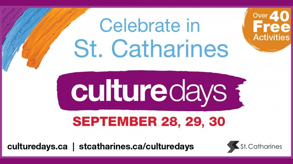 Friday | Culture Days St. Catharines
