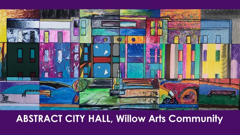 Opening Reception | Abstract City Hall by Willow Arts Community