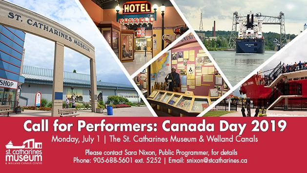 Call for Performers - Canada Day 2019